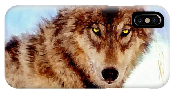 Mexican Wolf Painting IPhone Case