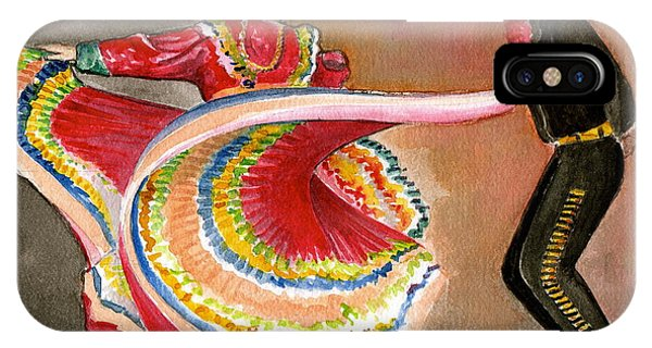 Mexico City Ballet Folklorico IPhone Case