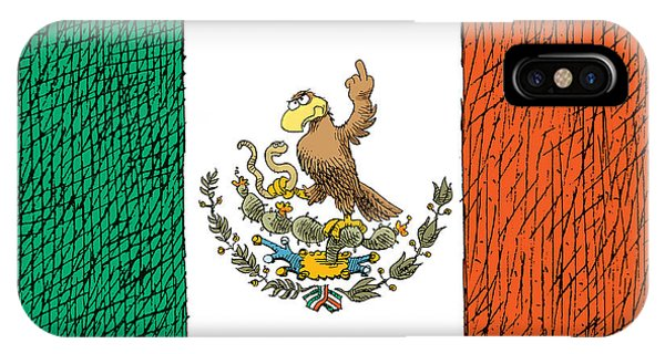 Mexico Flips Bird IPhone Case
