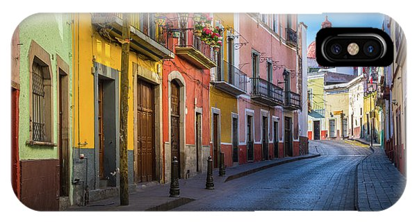 Guanajuato iPhone Case - Mexico Street by Inge Johnsson