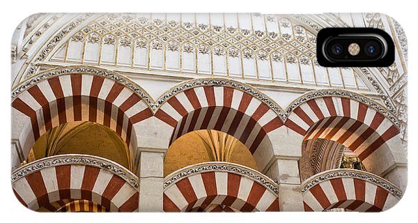 Mezquita Cathedral Architectural Details IPhone Case