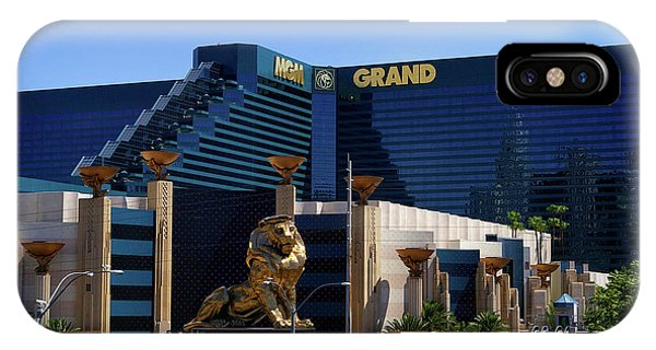 Mgm Grand Hotel Casino IPhone Case