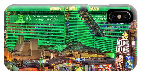 Mgm Grand Las Vegas IPhone Case