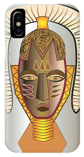 Mhask I IPhone Case