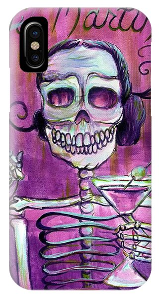 Martini iPhone Case - Mi Martini by Heather Calderon