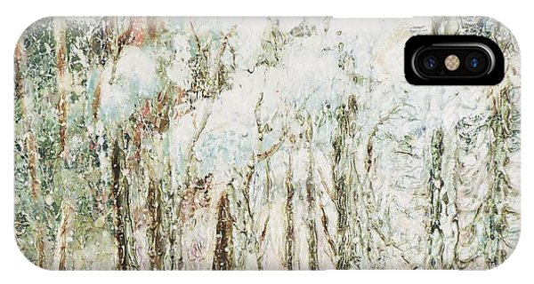 Oranger iPhone Case - Mi-saison  by Janine Boudreau