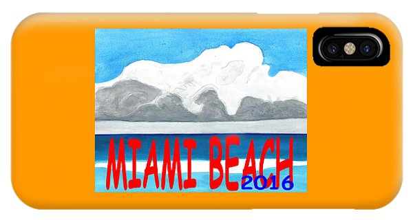 Miami Beach 2016 IPhone Case