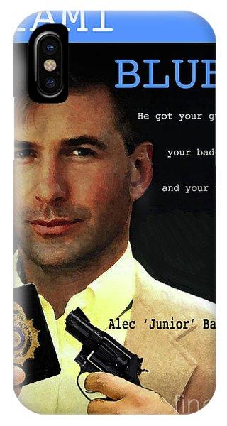 Miami Blues, Alec Baldwin, Movie Poster IPhone Case