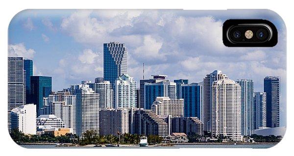 Miami Blues IPhone Case