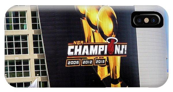 Miami Heat Nba Champions 2006-2012-20133 IPhone Case