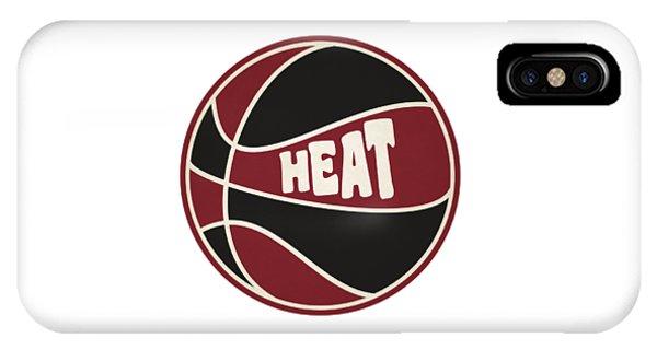 Miami Heat Retro Shirt IPhone Case