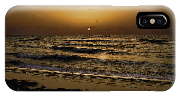 Miami Sunrise IPhone Case