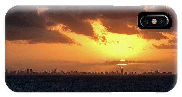 Miami Sunset IPhone Case