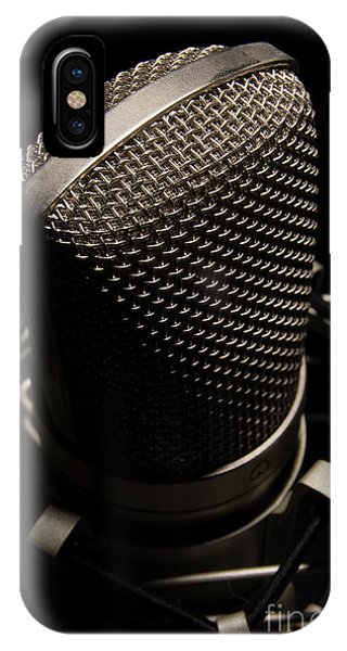 Mic IPhone Case