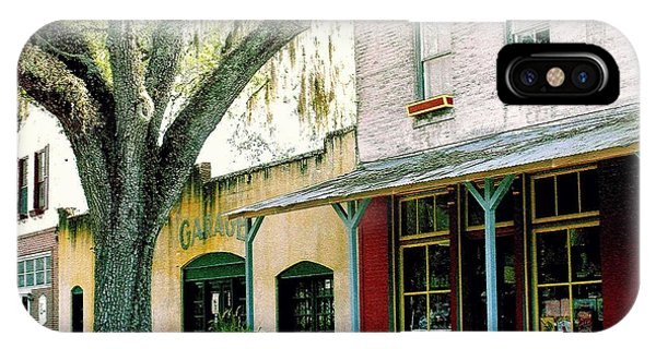 Micanopy Storefronts IPhone Case