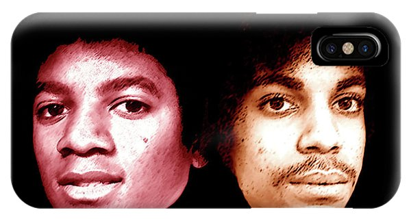 Michael And Prince In One IPhone Case
