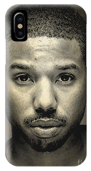 Michael B. Jordan IPhone Case