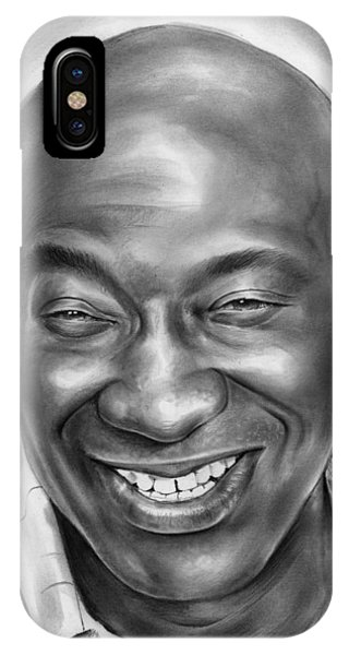 Yard iPhone Case - Michael Clarke Duncan by Greg Joens