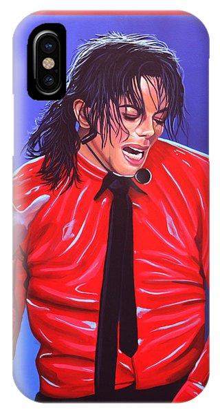 Michael Jackson 2 IPhone Case