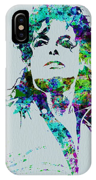 Michael Jackson iPhone Case - Michael Jackson by Naxart Studio