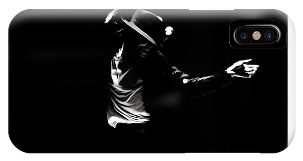 Mtv iPhone Case - Michael Jackson On Fire by Brian Reaves