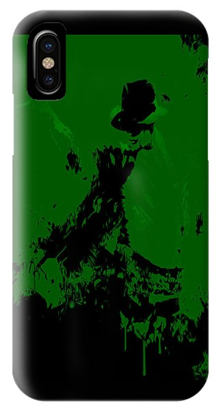 Michael Jackson Paint Splatter 4a IPhone Case