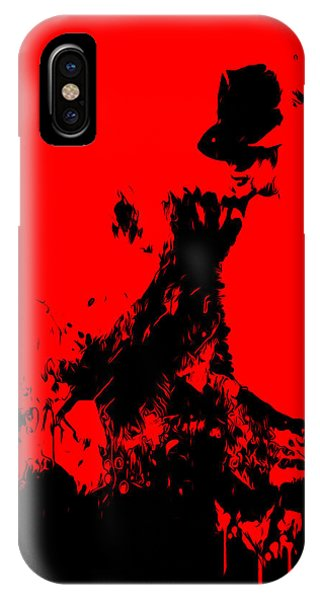 Michael Jackson Paint Splatter 4c IPhone Case