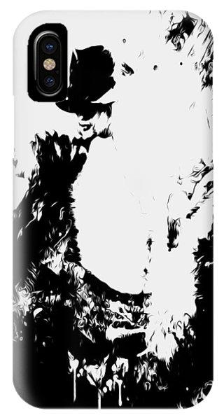 Michael Jackson Paint Splatter 4e IPhone Case