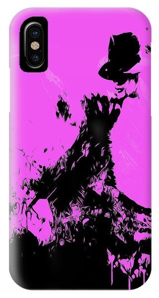 Michael Jackson Paint Splatter 4g IPhone Case