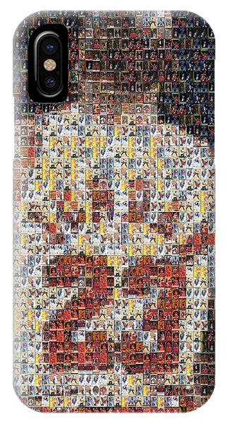 Michael Jordan Card Mosaic 2 IPhone Case