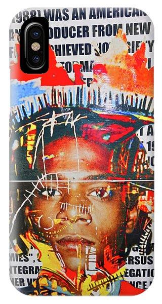 Michel Basquiat IPhone Case
