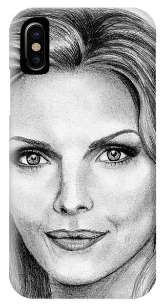 Michelle Pfeiffer In 2010 IPhone Case