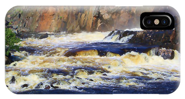 Michigame Falls IPhone Case