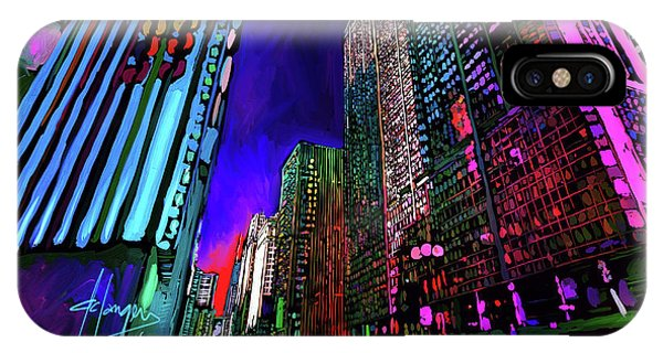 Michigan Avenue, Chicago IPhone Case