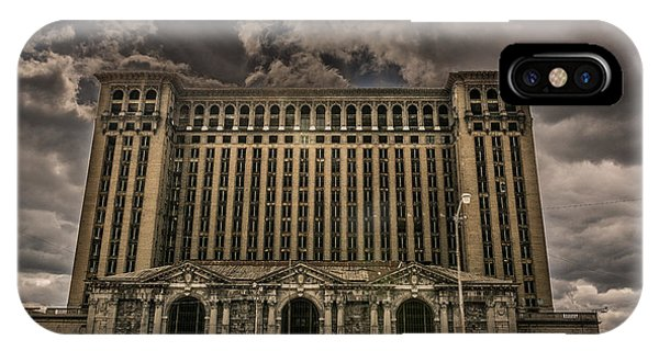 Michigan Central Station IPhone Case
