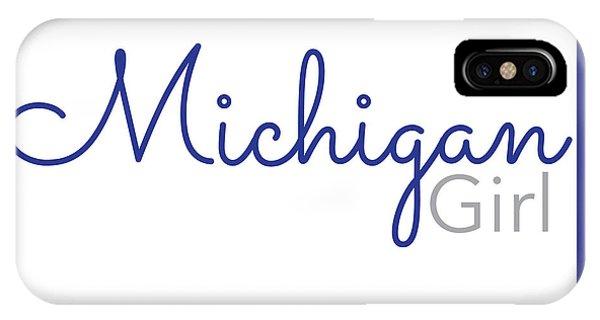 Michigan Girl IPhone Case