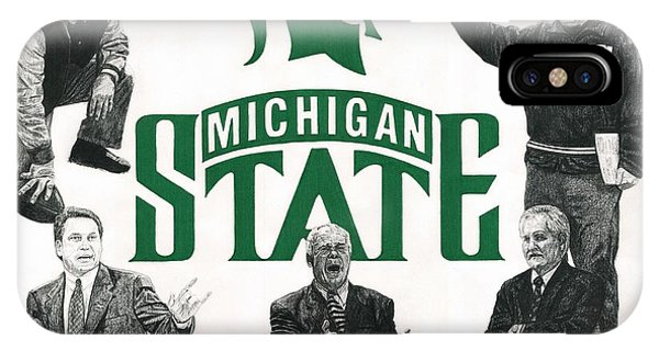 Michigan State Coaching Legends IPhone Case