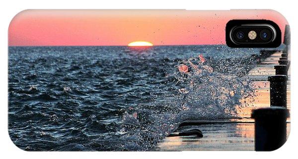 Michigan Summer Sunset IPhone Case