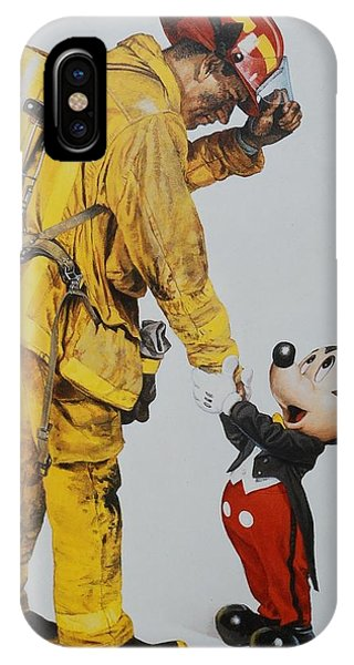 iPhone Case - Mickey And The Bravest by Rob Hans