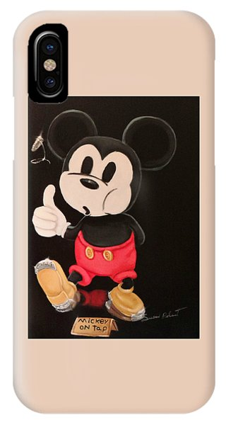 Mickey On Tap IPhone Case