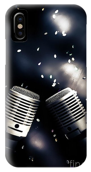 Musical iPhone Case - Microphone Club by Jorgo Photography - Wall Art Gallery