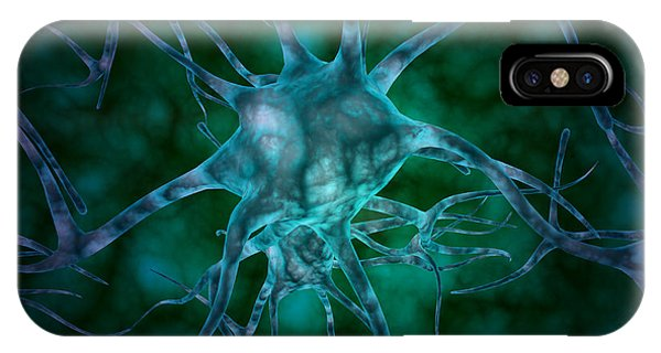 Microscopic View Of Multiple Nerve IPhone Case