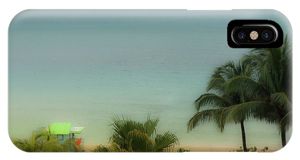 Mid-beach Miami-1 IPhone Case