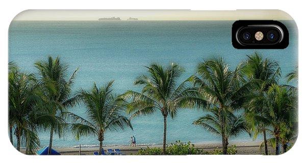 Mid-beach Miami-2 IPhone Case