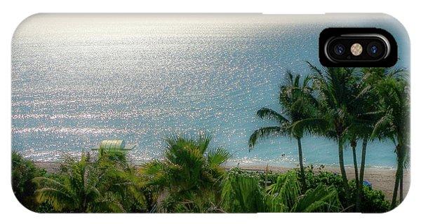 Mid-beach Miami-3 IPhone Case