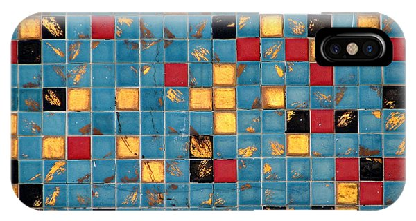Mid Century Tiles IPhone Case