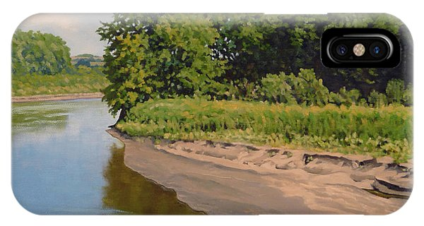 Mid Summer Prairie Stream IPhone Case