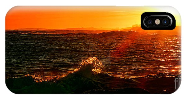 Midcoast Maine Sunset IPhone Case