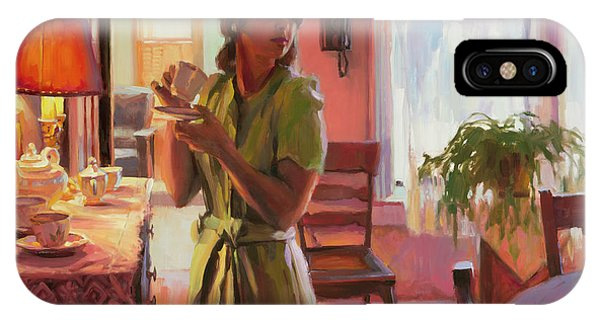 Past iPhone Case - Midday Tea by Steve Henderson