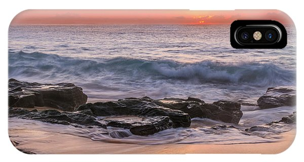 Middle Beach Sunrise IPhone Case